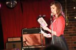 Reading from my book at Paul Anthony's Talent Time in May 2010