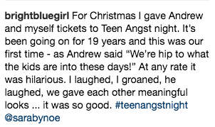 Teen Angst Instagram Review